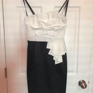 Black and white Max and Cleo dress